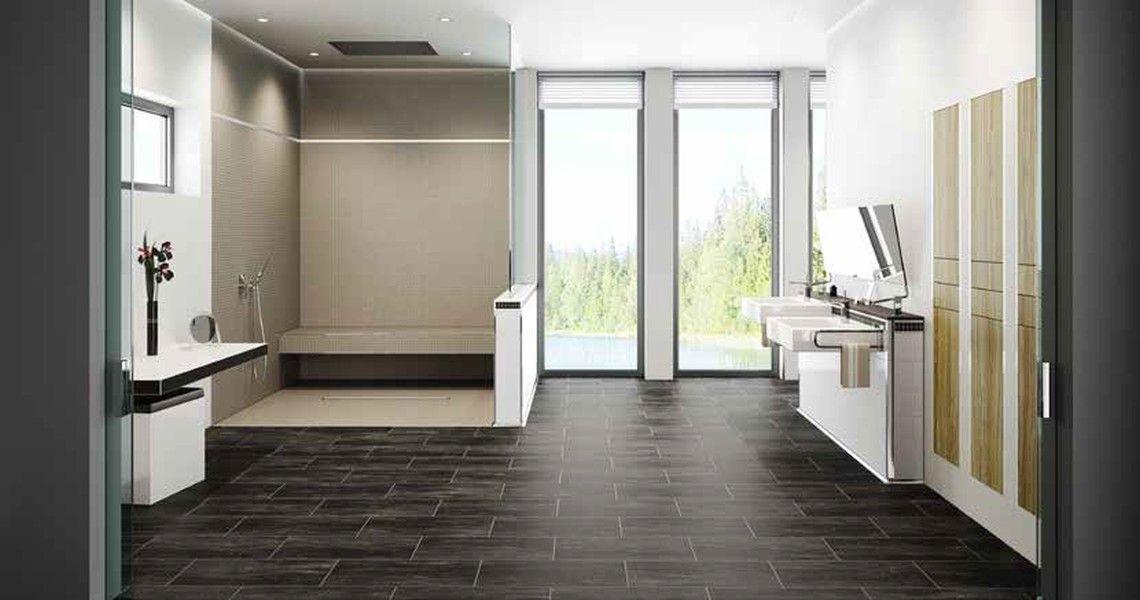 bodengleiche barrierefreie duschen. Black Bedroom Furniture Sets. Home Design Ideas