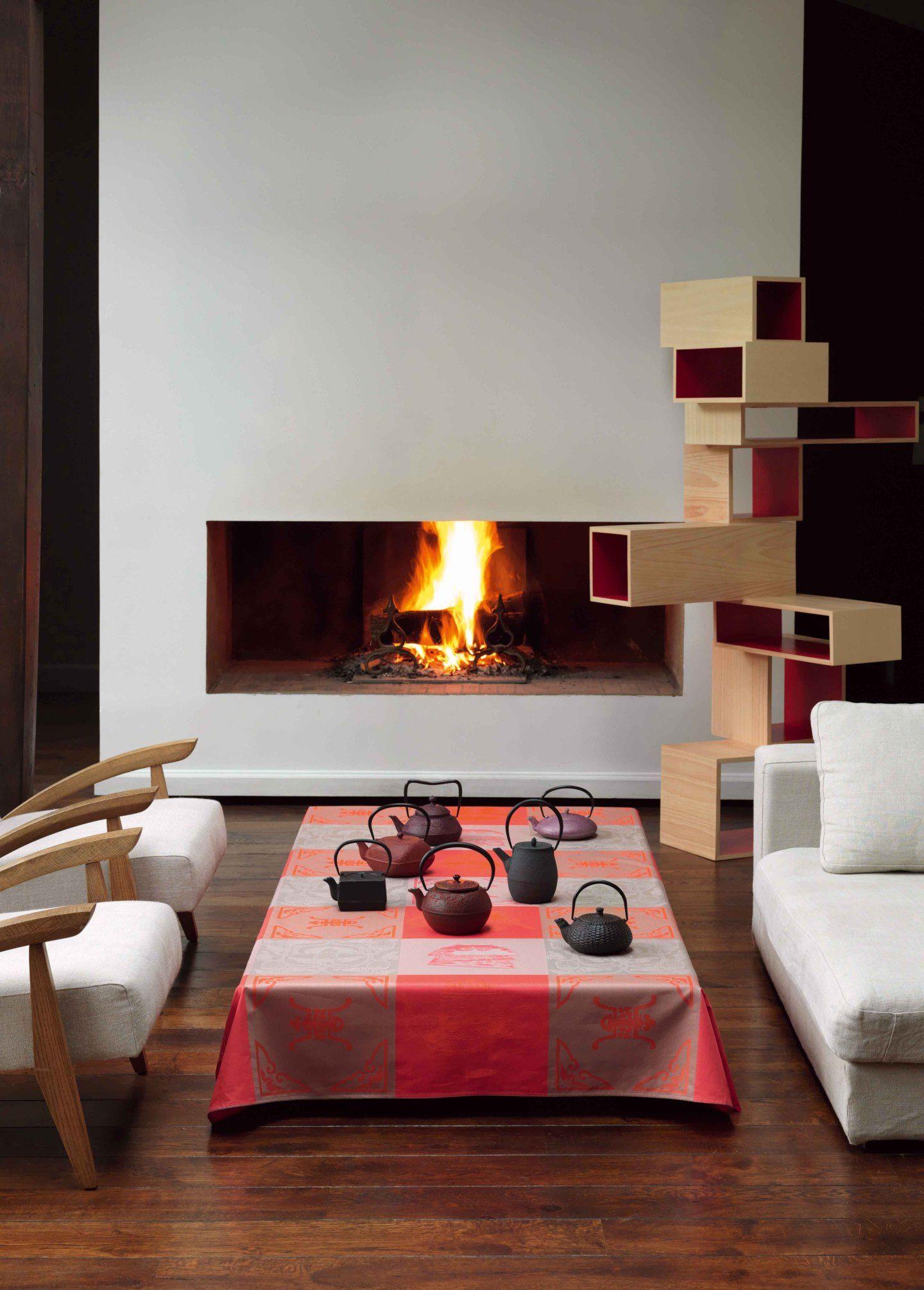 tischdecke darjeeling von le jacquard francais. Black Bedroom Furniture Sets. Home Design Ideas