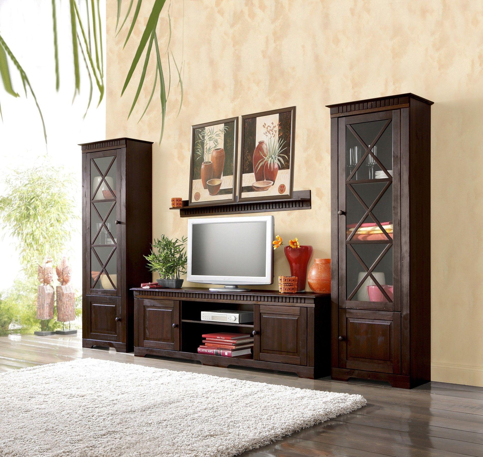 Wohnzimmer-Schränke In Modern-rustikalem Stil