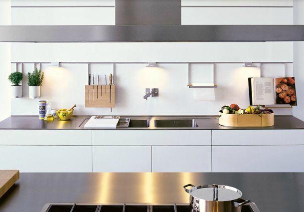 Küchenzeile design  Moderne Küche: Kochen im edlen Design - bauemotion.de