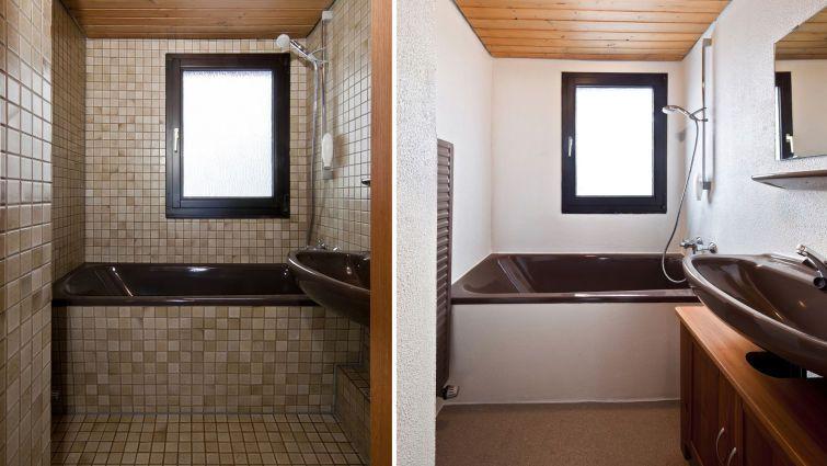 fliesen lackieren. Black Bedroom Furniture Sets. Home Design Ideas