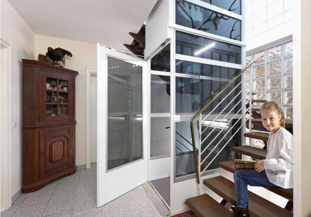 barrierefreie aufz ge. Black Bedroom Furniture Sets. Home Design Ideas