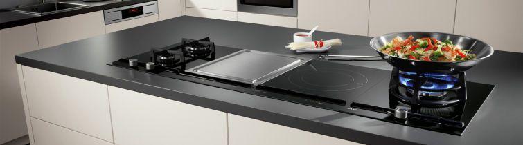 k che hightech mit induktionsherd und co. Black Bedroom Furniture Sets. Home Design Ideas