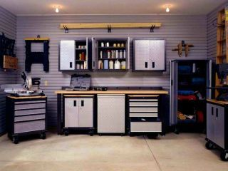 Hervorragend Umgebaute Garage: Die Versorgungstechnik