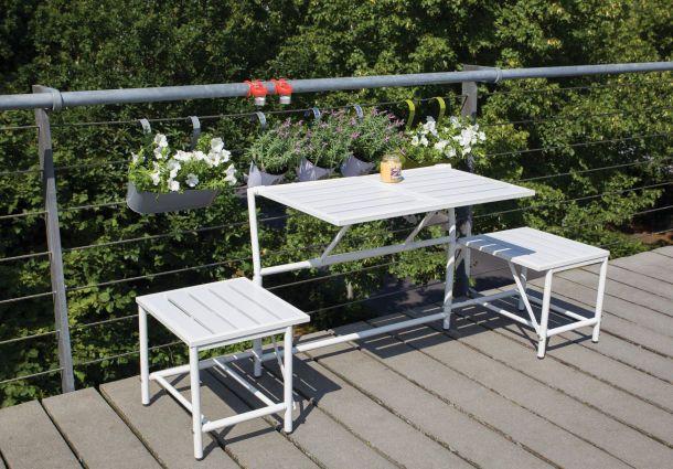 ideen f r kleine balkone. Black Bedroom Furniture Sets. Home Design Ideas