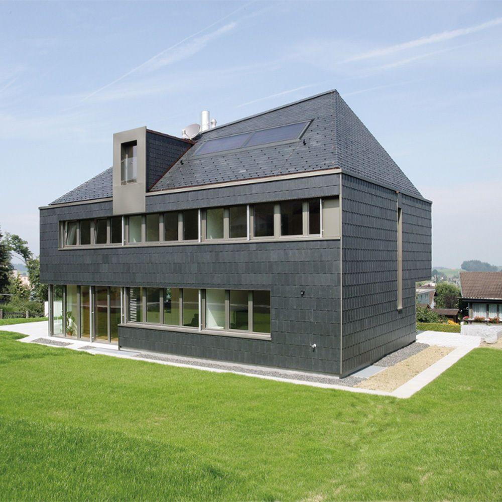 schiefer naturstein f r dach und fassade. Black Bedroom Furniture Sets. Home Design Ideas