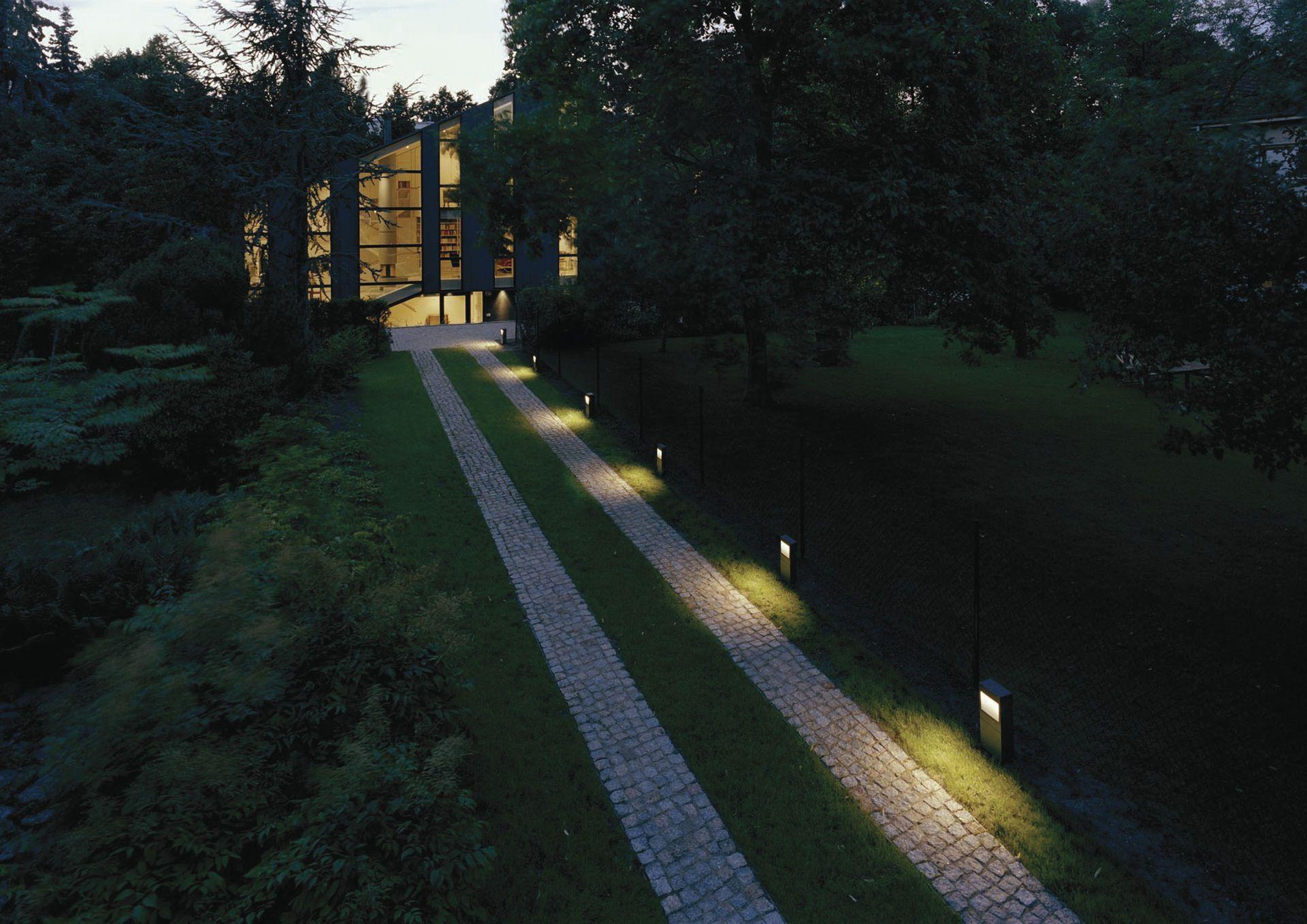 Wegbeleuchtung Sicher Zur Haustür Bauemotionde