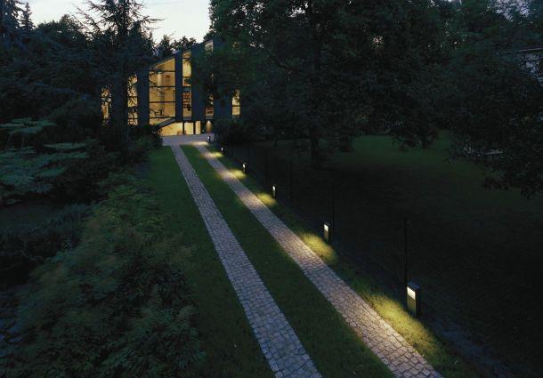 Wegbeleuchtung: Sicher zur Haustür - bauemotion.de