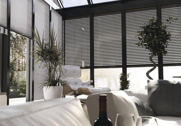 unkompliziert und einfach montiert jalousien und rollos. Black Bedroom Furniture Sets. Home Design Ideas