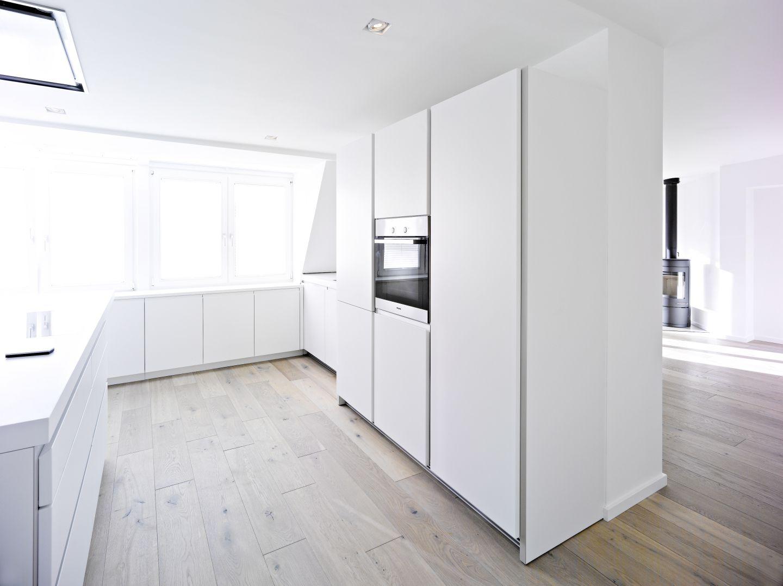 die k che wird zum raumteiler. Black Bedroom Furniture Sets. Home Design Ideas
