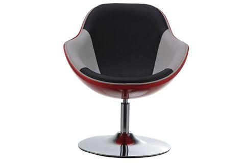 retro design der 70er futuristischer drehsessel. Black Bedroom Furniture Sets. Home Design Ideas