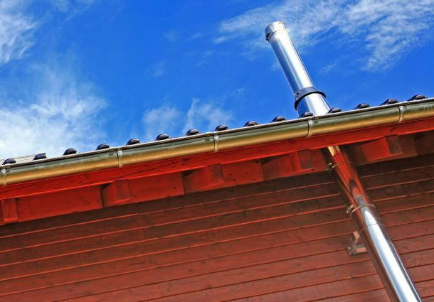 Schornsteindurchführung Durch Das Dach