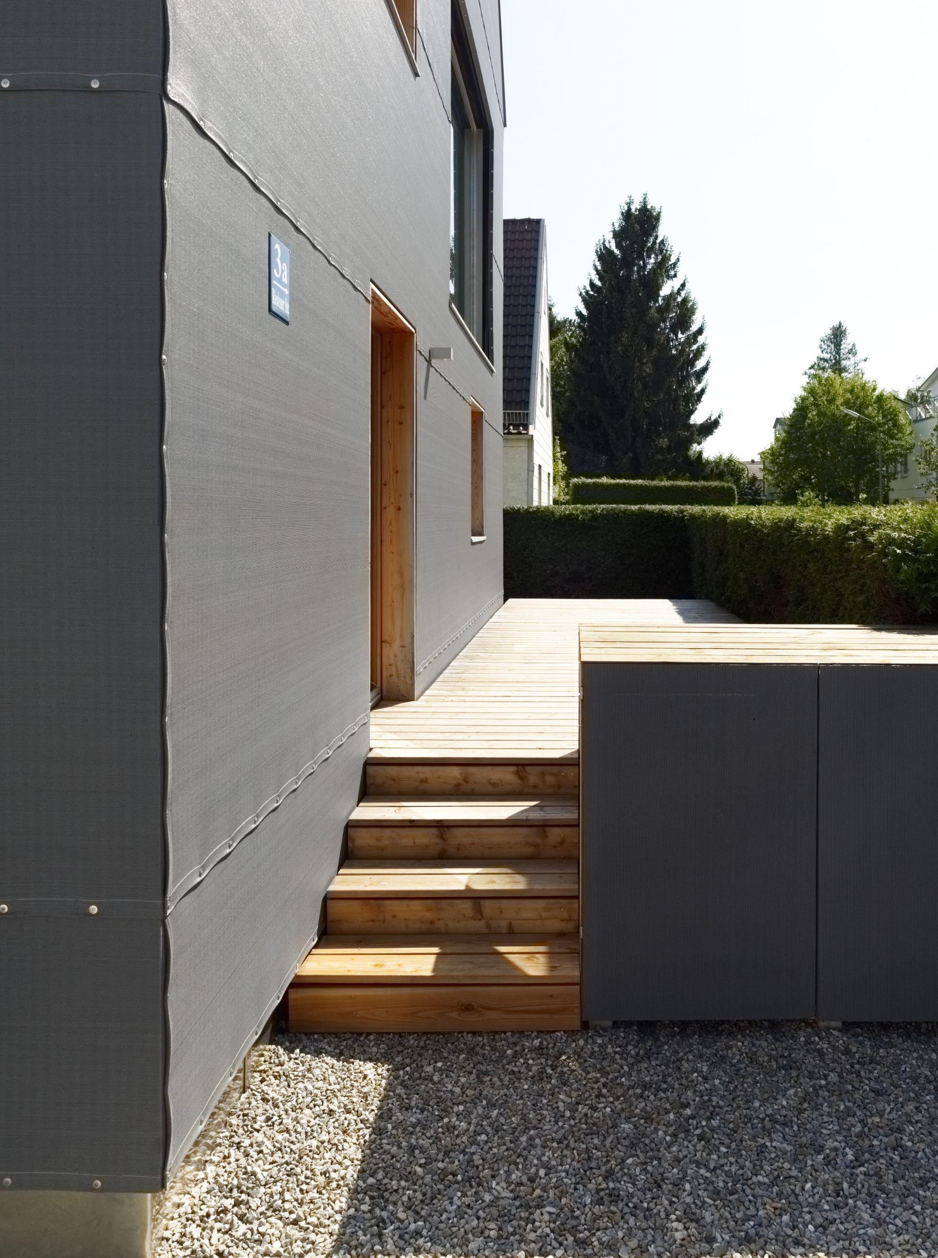 Exceptional Hauseingang Mit Holz Veranda