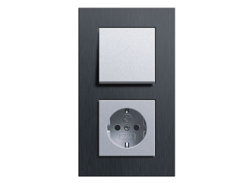 gira esprit schalterprogramm. Black Bedroom Furniture Sets. Home Design Ideas